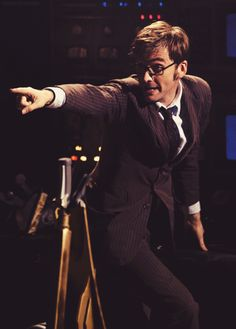 David Tennant as the 10th Doctor