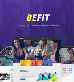 Be Fit - Fitness WordPress Theme for Gym, Yoga & Fitness Centers • Download…
