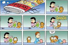 garfield liz spider and jon funny comic – the idea girl says wordpress linda randall Frases Garfield, Garfield Quotes, Garfield Cartoon, Garfield And Odie, Garfield Comics, Funny Cartoons, Funny Comics, Garfield Wallpaper, Jagodibuja Comics