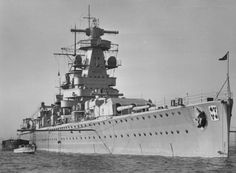 Admiral Graf Spee seen in late 1936 or early 1937. Source: Maritime Quest