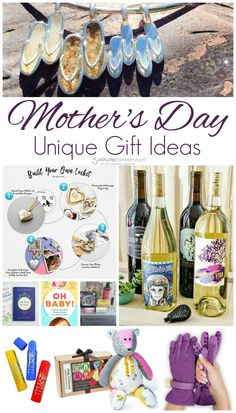 Unique Gifts for Moms - Mother's Day Gift Guide #mothersday #giftideas #ad