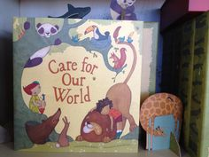 Our newest kid's book from Compendium. It comes with cut out animals for play. $34.95