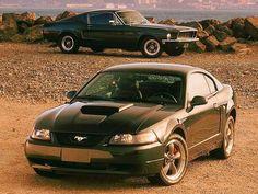 2001 Mustang Bullitt and the 1968 Mustang GT 390