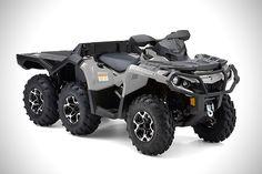 Can-Am Outlander 6x6 ATV 1