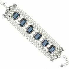 I own this bracelet in clear and love it! Looks great with everything! Available at Brighton Collectibles in Park Place Mall in Tucson. Call 520-512-8913 and ask for Dani. Le Ritz Bracelet  available at #Brighton