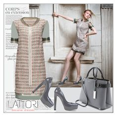 """""""Lattori"""" by frenchfriesblackmg ❤ liked on Polyvore featuring Lattori, Brian Atwood and Michael Kors"""