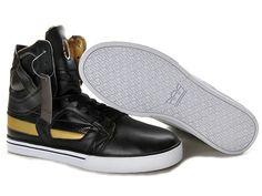 Supra Skytop II Black Gold Men's Shoes