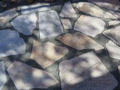 A beautiful slate walkway for $200