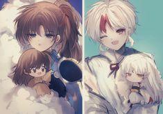 Inuyasha Fan Art, Inuyasha And Sesshomaru, Funny Disney Jokes, Anime Family, Cute Pictures, Fantasy Art, Otaku, Kawaii, Japanese