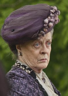 The Dowager Countess, Lady Violet.