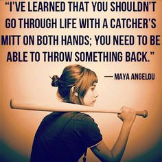 Discover and share Baseball And Softball Quotes. Explore our collection of motivational and famous quotes by authors you know and love. Free Inspirational Quotes, Great Quotes, Quotes To Live By, Me Quotes, Funny Quotes, Motivational, Inspiring Quotes, The Words, Cool Words