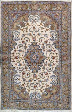 "Tabriz Persian Rug, Buy Handmade Tabriz Persian Rug 4' 10"" x 7' 5"", Authentic Persian Rug"