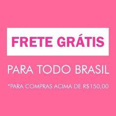 Ei gente! 😀  A @BellaMiaAtelie tem FRETE GRÁTIS para todo o Brasil nas compras acima de R$150,00. Aproveite e adquira vários produtos! Visite nossa loja: 🌟 www.elo7.com.br/bellamiaatelie 🌟    #fretegrátis #paratodooBrasil #territórionacional #Correios #Envios #produtosartesanais #acessórios #decoração #papelaria #produtosforadeserie #elo7br