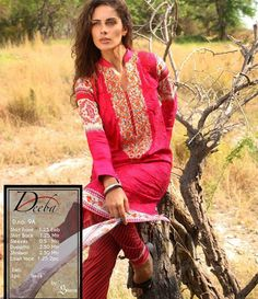 Deeba Summer Lawn Collection 2015 DS-9A