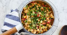 Chickpea and Vegetable Coconut Curry via @PureWow