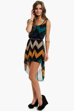 Ocean Crush Dress $26 at www.tobi.com