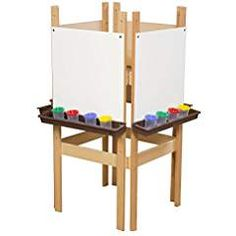 Oneyongs Wood Desktop Mini Easel Painting Craft Drawing Easel Holder Stand 15inch for Children