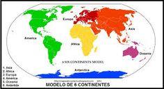 Resultado de imagen para mapamundi dibujos para colorear