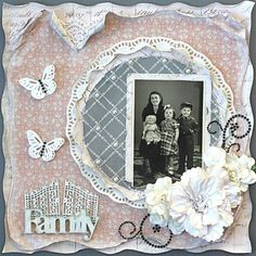Soft Vintage Style Distressing