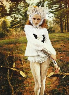 Greg Kadel - Photographer  Patti Wilson - Fashion Editor/Stylist  Peter Gray - Hair Stylist  Frank B - Makeup Artist  Vlada Roslyakova - Model