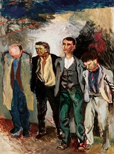 Renato Guttuso - Shooting in the countryside