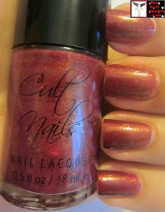"The Nail Junkie: Cult Nails ""Iconic"" + Stamping + Gold Tips ="