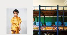 Onde as crianças dormem ao redor do mundo. Hang com 5 anos, mora em Pequim na China.