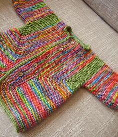 BSJ side 2   pattern: Elizabeth Zimmerman's Baby Surprise Ja…   Flickr