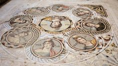 New mosaics unearthed in ancient city of Zeugma - It is incredibly well preserved!
