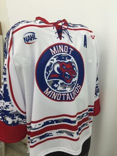 9e6848c25 Minot Minotauros custom sublimated 2016-2017 special event game jerseys. K1  Sportswear is a