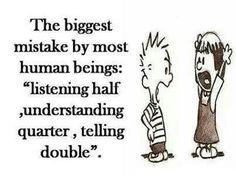 Biggest mistake. ...
