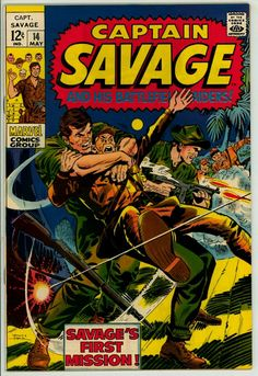 Captain Savage and his Battlefield Raiders 14 (FN+ 6.5)