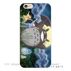 6 6S Multiple Styles Silicon Painting Totoro Phone Cover Case For Apple iPhone 6 6S iPhone6S Cases Shell 2016 Top Fashion Best
