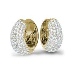 14ct Diamond Earring - Jacqueline   21DIAMONDS