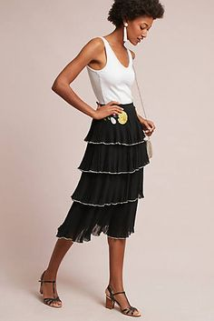 Shreya Embroidered Skirt