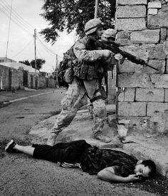 War in Iraq - Battle for fallujah