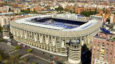 Santiago Bernabeu Real Madrid stadium