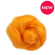 Tussah silk fibers ,  melon