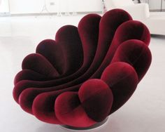 Anemone Armchair by Giancarlo Zema for Giovannetti – Anemone Armchair by Gianca… - Diy furniture design Unusual Furniture, Diy Garden Furniture, Victorian Furniture, Funky Furniture, Home Decor Furniture, Living Room Furniture, Furniture Design, Furniture Ideas, Barbie Furniture