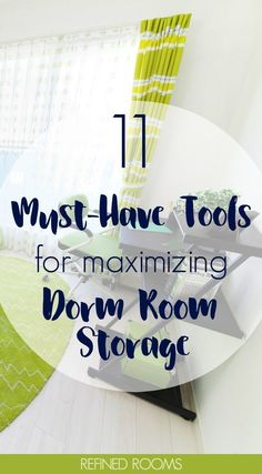 11 Organizing Tools for Maximizing Dorm Room Storage Off to college? Dorm rooms are typically TINY. Get these MUST HAVE organization tools for maximizing dorm room storage! Dorm Room Storage, Dorm Room Organization, Small Space Organization, Craft Organization, Storage Spaces, Organizing Tools, College Packing Lists, College Planning, Little Corner