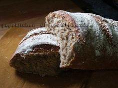 Receta de pan de espelta casero, un pan medieval Pan Bread, Bread Recipes, Healthy Life, Bakery, Food And Drink, Appetizers, Cooking, Sweet, Breads