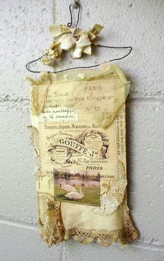 French style wire hanger wall hangings