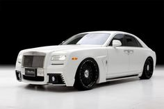 Rolls-Royce Ghost Black Bison