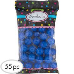 Royal Blue Gumballs 56pc - Party City
