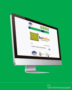Website Ecoway Tecnologia e Sustentabilidade A ECOWAY é uma empresa que tem como objetivo desenvolver e comercializar produtos ecologicamente corretos, para limpeza e conservação de superfícies, destinados ao uso doméstico e profissional.  Saiba mais, acesse: www.ecoway.eco.br