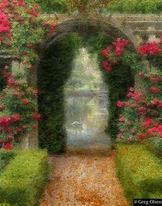 Rose Arbor - Greg Olsen