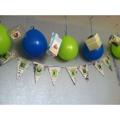 Garbage theme birthday party decorations