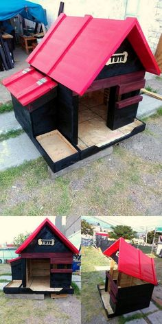 DOG HOUSES IDEAS THAT YOU CAN MAKE WITH DIY PALLETS