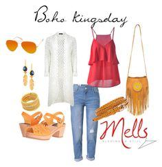 """boho kingsday"" by melanie-hegeman on Polyvore featuring AQS by Aquaswiss, Sam Edelman, WithChic, Boohoo, Swedish Hasbeens and Ottoman Hands"
