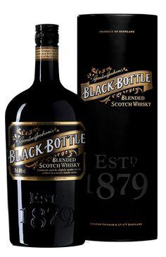 Le whisky Black Bottle est d'abord un Blend de luxe avec ses 45% de malt.